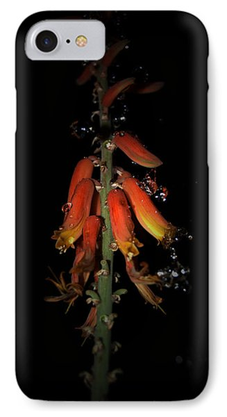 IPhone Case featuring the photograph Aloe Flower by Leticia Latocki