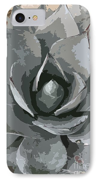 Aloe Vera Abstract IPhone Case by Christiane Schulze Art And Photography