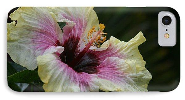 Aloha Aloalo Tropical Hibiscus Haiku Maui Hawaii Phone Case by Sharon Mau