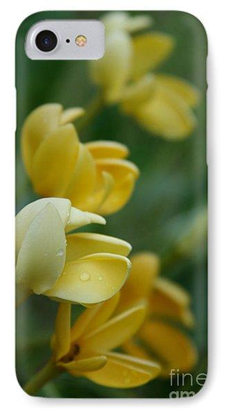 Aloha He Pua Lahaole Kula Gardenia Grandiflora Phone Case by Sharon Mau