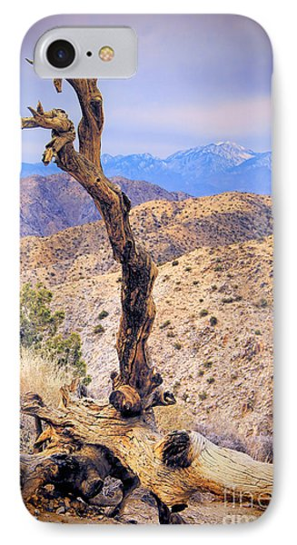 Alone In The Desert Phone Case by Mariola Bitner
