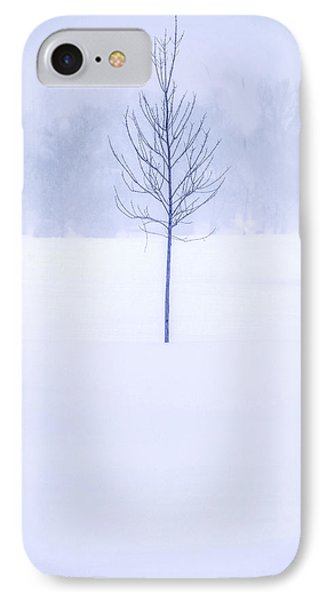 Alone In The Snow IPhone Case by Andrew Soundarajan