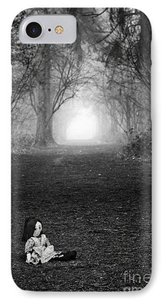 Alone IPhone Case by Tim Gainey