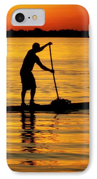 Alone With The Sun Phone Case by Karen Wiles