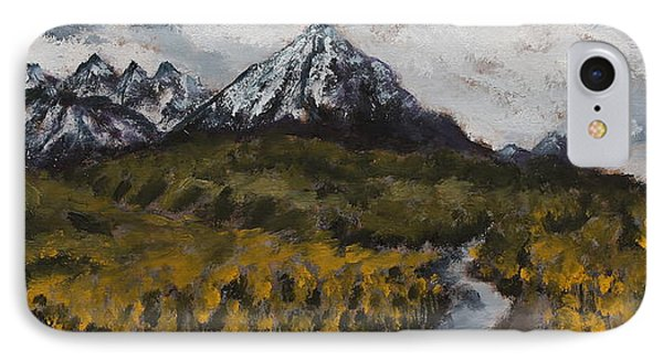 Along The Alaska Range IPhone Case by Alan Mager