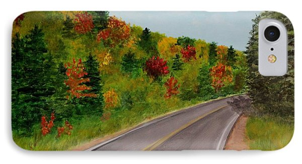 Along The Cabot Trail IPhone Case
