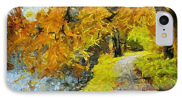 Along The Creek IPhone Case by Dragica  Micki Fortuna