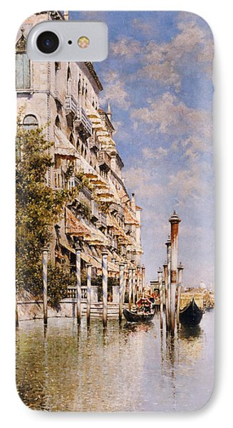 Along The Grand Canal Phone Case by Rafael Senet