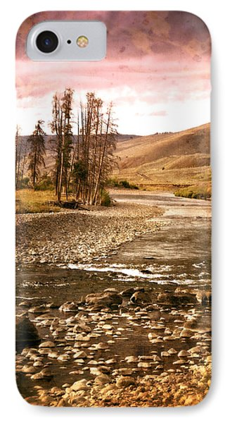 Along The Larmar River 2 Phone Case by Marty Koch