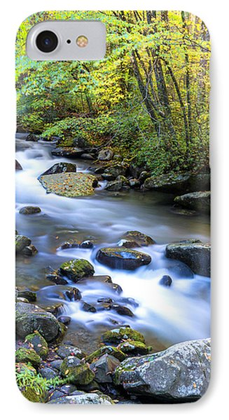 Along The Oconaluftee River IPhone Case by Andres Leon