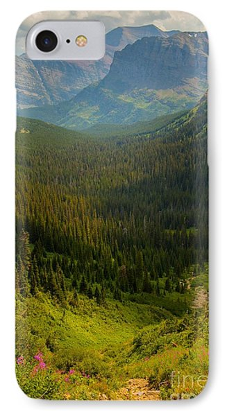 Along The Path To Iceburg Lake 19 Phone Case by Natural Focal Point Photography