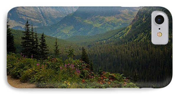 Along The Path To Iceburg Lake 21 Phone Case by Natural Focal Point Photography