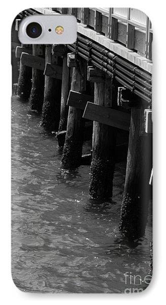 Along The Pier IPhone Case by Barbara Bardzik