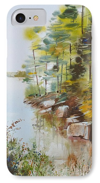 Along The Shore IPhone Case by P Anthony Visco
