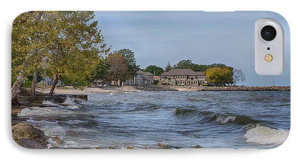 IPhone Case featuring the photograph Along The Shores Of Marblehead by John M Bailey