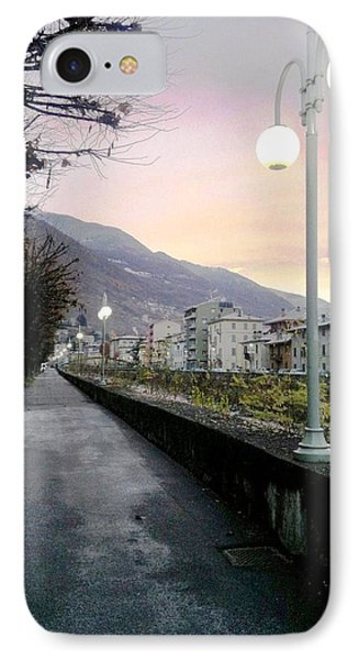 Along The Stream Morning First Light IPhone Case by Giuseppe Epifani