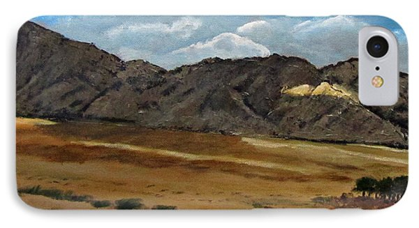 Along The Way To Eilat Phone Case by Linda Feinberg