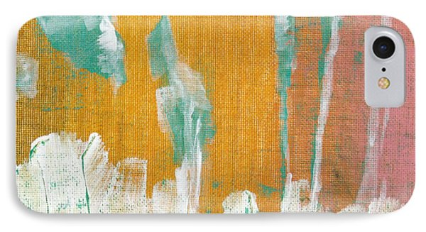 IPhone Case featuring the painting Along The White Picket Fence C2013 by Paul Ashby