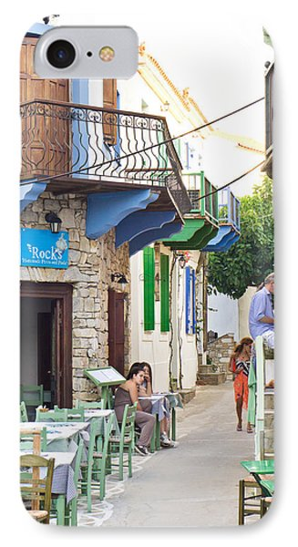 Alonissos Old Village IPhone Case by Tom Gowanlock
