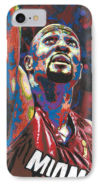 Alonzo Mourning IPhone Case by Maria Arango