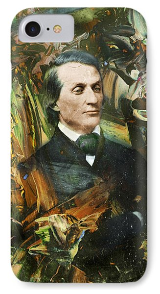 Aloof Fellow 1 IPhone Case by James W Johnson