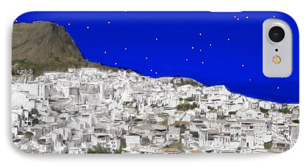Alora Malaga Spain At Twilight IPhone Case by Bruce Nutting