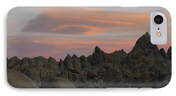 Alpenglow And Boulders IPhone Case