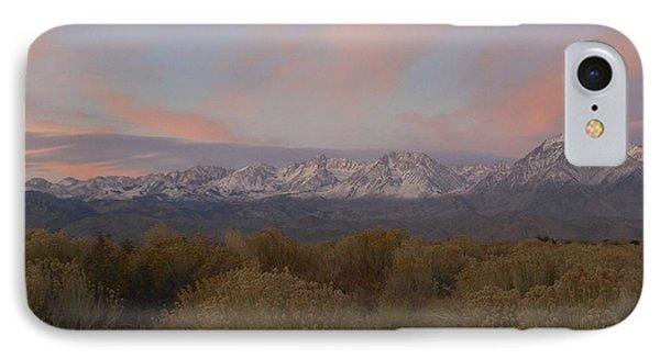 Alpenglow Owens Valley IPhone Case