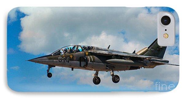 Alpha Jet 014 Phone Case by Bianca Nadeau