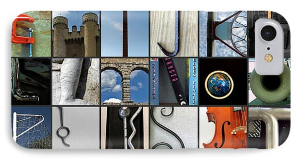 IPhone Case featuring the photograph Alphabet by Farol Tomson