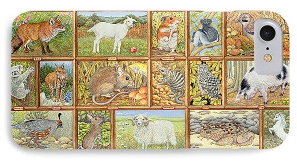 Alphabetical Animals IPhone 7 Case by Ditz
