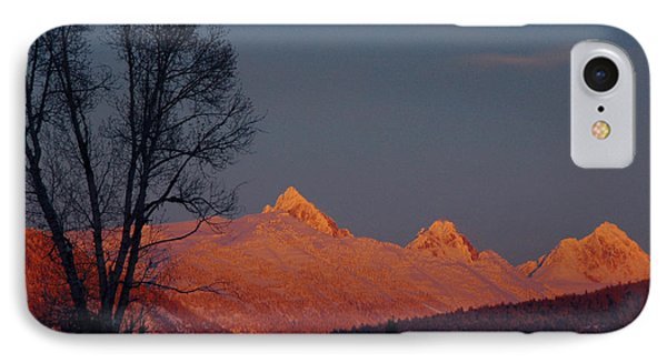 IPhone Case featuring the photograph Alpenglow by Raymond Salani III