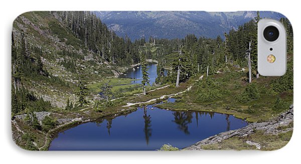 Alpine Lakes IPhone Case by Elvira Butler