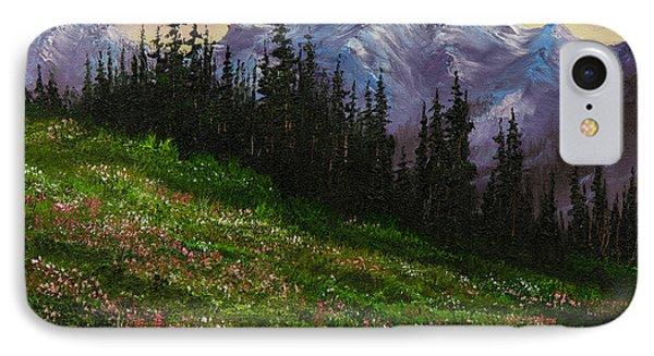 Alpine Meadow Phone Case by C Steele