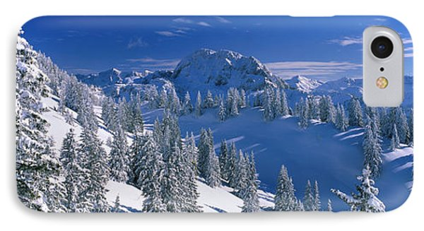 Alpine Scene, Bavaria, Germany IPhone Case