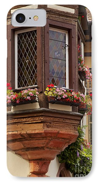 Alsace Window Phone Case by Brian Jannsen