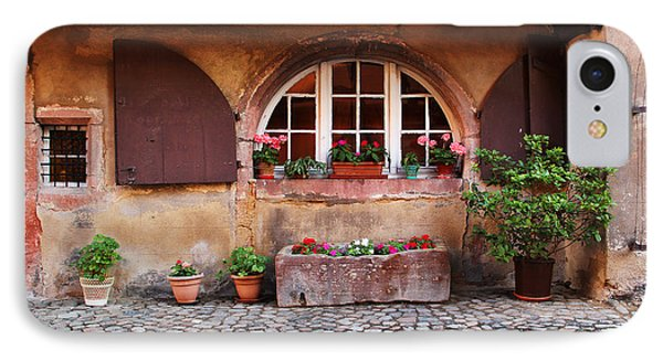 Alsatian Home In Kaysersberg France Phone Case by Greg Matchick