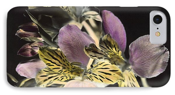 IPhone Case featuring the photograph Alstroemeria by Lana Enderle