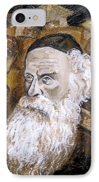 Alter Rebbe Phone Case by Leon Zernitsky
