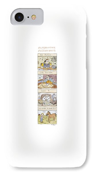 Alternative Accountants Ed Prothero IPhone Case by Roz Chast