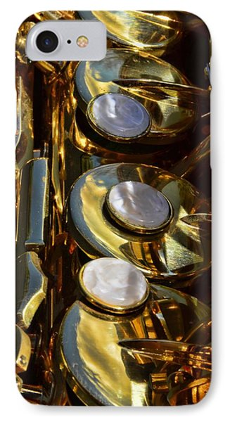 Alto Sax Reflections Phone Case by Ken Smith