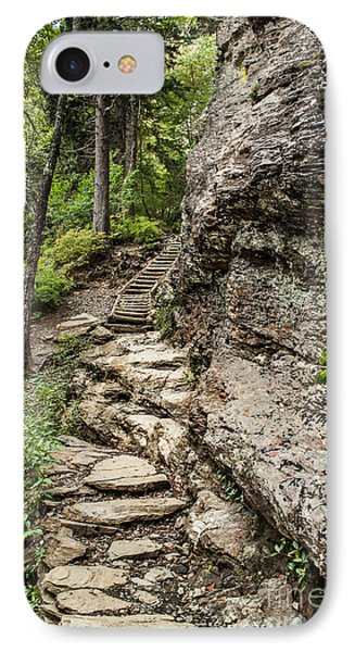 Alum Cave Trail IPhone Case by Debbie Green