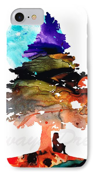 Always Dream - Inspirational Art By Sharon Cummings IPhone Case by Sharon Cummings