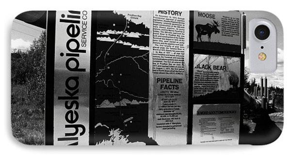 Alyeska Pipeline IPhone Case by Juergen Weiss