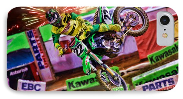 Ama 450sx Supercross Chad Reed IPhone Case