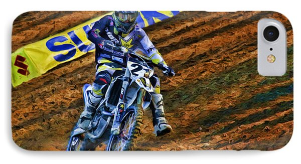 Ama 450sx Supercross Jason Anderson IPhone Case