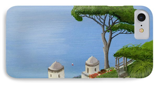Amalfi Coast From Ravello IPhone Case by Mike Robles