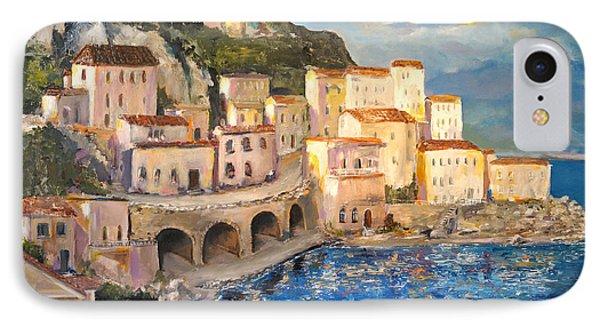 Amalfi Coast Highway IPhone Case by Alan Lakin