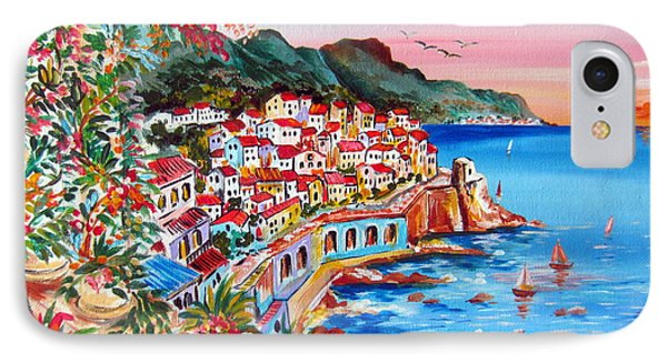Amalfi Coast IPhone Case