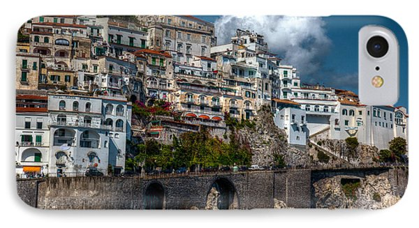 IPhone Case featuring the photograph Amalfi Coast by Uri Baruch